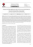 Protective role of foliar-applied nitric oxide in Triticum aestivum under saline stress