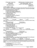 Đề kiểm tra HK1 môn GDCD lớp 11 năm 2018-2019 - Sở GD&ĐT Quảng Nam - Mã đề 803