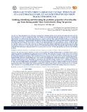 Phân lập, tuyển chọn và khảo sát các đặc tính có lợi của lactobacillus spp. từ ao nuôi tôm ở huyện Nhơn Trạch, tỉnh Đồng Nai
