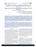 Tác động của các nhân tố vĩ mô đến cấu trúc vốn của các công ty niêm yết trên thị trường chứng khoán Việt Nam