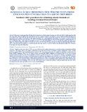 Đánh giá các quy trình phân tích tĩnh phi tuyến trong tính toán phản ứng địa chấn của khung thép BRBFS
