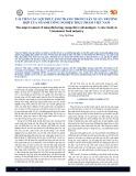 Cải tiến các lợi thế cạnh tranh trong sản xuất: Trường hợp của ngành công nghiệp thực phẩm Việt Nam