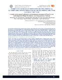 Nghiên cứu đánh giá ô nhiễm môi trường phóng xạ tự nhiên khu mỏ đất hiếm Nậm Xe, huyện Phong Thổ, tỉnh Lai Châu, Việt Nam