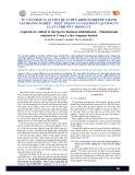 Tư vấn pháp luật liên quan đến khởi nghiệp để thành lập doanh nghiệp – Thực trạng và giải pháp tại công ty luật TNHH MTV Trọng Lý