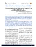 Nghiên cứu ảnh hưởng của một số yếu tố công nghệ đến hiệu suất trích ly collagen từ da cá tra (Pangasius hypophthalmus)