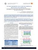Xây dựng mô hình pin năng lượng mặt trời quang điện sử dụng MATLAB/Simulink