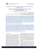 Nghiên cứu tổng hợp chitosan - peg nanogels mang thuốc chống ung thư