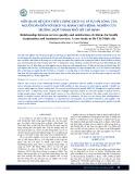 Mối quan hệ giữa chất lượng dịch vụ và sự hài lòng của người dân đối với dịch vụ khám chữa bệnh: nghiên cứu trường hợp thành phố Hồ Chí Minh