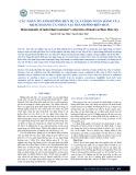 Các nhân tố ảnh hưởng đến sự lựa chọn ngân hàng của khách hàng cá nhân tại thành phố Biên Hoà