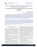 Đánh giá về tính độc lập trong tố tụng cạnh tranh theo quy định của pháp luật hiện hành