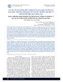 Các yếu tố tác động đến ý định sử dụng mạng xã hội của sinh viên: Trường hợp khảo sát tại các trường đại học ở thành phố Biên Hòa, Đồng Nai