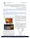 Nghiên cứu, thiết kế và chế tạo thiết bị tự động dán kẹo sáo