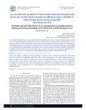 Các nguyên tắc và nhân tố ảnh hưởng đến mô hình kế toán quản trị chi phí trong doanh nghiệp khai thác, chế biến và kinh doanh đá xây dựng ở địa bàn tỉnh Bình Dương