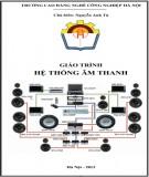 giáo trình hệ thống âm thanh: phần 1 - nguyễn anh tú (chủ biên)