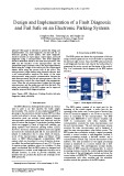 Design and implementation of a fault diagnosis and fail safe on an electronic parking systems