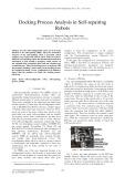 Docking process analysis in self repairing robots