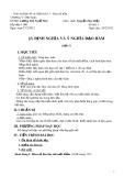 Giáo án Đại số và Giải tích 11: Định nghĩa và ý nghĩa của đạo hàm