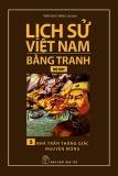 Tranh vẽ về lịch sử Việt Nam (Bộ dày): Tập 5 - Nhà Trần thắng giặc Nguyên Mông