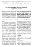 Nghiên cứu thành phần cấu trúc và hoạt tính chống oxy hóa của pectin phân lập từ lá Cúc quỳ (Tithonia diversifolia)