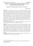 Nghiên cứu mô hình chủ nghĩa xã hội ở Việt Nam: Một số vấn đề cần quan tâm