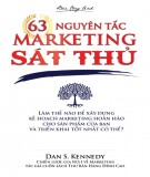 Sát thủ marketing và 63 nguyên tắc: Phần 1