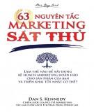 Sát thủ marketing và 63 nguyên tắc: Phần 2