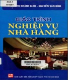 giáo trình nghiệp vụ nhà hàng: phần 1 - nxb tổng hợp tp.hcm