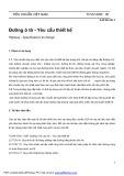 Tiêu chuẩn Việt Nam 4054: Đường ô tô - Yêu cầu thiết kế