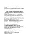 Tiêu chuẩn Quốc gia TCVN 9504:2012