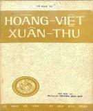 Tài liệu lịch sử - Hoàng Việt xuân thu: Phần 1
