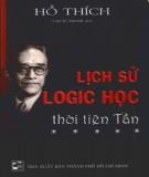 Thời Tiên Tần và lịch sử logic học: Phần 1
