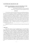Nghiên cứu thành phần và mật số tuyến trùng gây hại trên cây hồ tiêu tại Cam Lộ, Quảng Trị