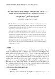 Điều tra, tinh sạch và tìm hiểu tính chất đặc trưng của lectin một số giống đậu cô ve (Phaseolus Vulgaris L.)