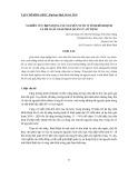 Nghiên cứu biến động tài nguyên nước ở tỉnh Bình Định và đề xuất giải pháp quản lý, sử dụng