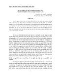 Quan niệm về chủ nghĩa hậu hiện đại trong nghiên cứu văn học ở Việt Nam