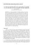 Các nhân tố ảnh hưởng đến sự lựa chọn chiến lược sinh kế của các nông hộ tại vùng cát ven biển tỉnh Thừa Thiên Huế