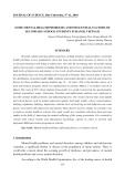 Some mental health problems and influential factors of secondary school students in Hanoi, Vietnam