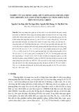 Nghiên cứu xác định cadmi, chì và đồng bằng phương pháp von-ampe hòa tan anot sử dụng điện cực màng thủy ngân trên nền paste carbon