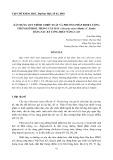 Xây dựng quy trình chiết xuất và phương pháp định lượng Stigmasterol trong cây ráy (Alocasia odora (Roxb.) C. Koch) bằng sắc ký lỏng hiệu năng cao