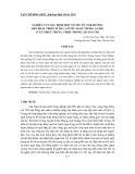 Nghiên cứu xác định một số yếu tố ảnh hưởng đến phát triển nuôi cá nước ngọt trong ao hồ ở xã Triệu Trung, Triệu Phong, Quảng Trị