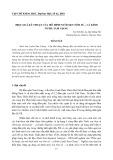Hiệu quả kỹ thuật của mô hình nuôi xen tôm sú – cá kình ở Phá Tam Giang