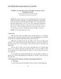 Nghiên cứu khu hệ cá rạn vùng biển ven đảo Lý Sơn, tỉnh Quảng Ngãi