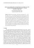 Khảo sát sự biến động về thành phần loài động vật nổi (zooplankton) ở đầm Phá Tam Giang - Cầu Hai tỉnh Thừa Thiên Huế