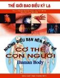 Cơ thể con người và những điều bạn nên biết