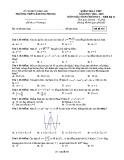 Đề kiểm tra Giải tích lớp 12 chương 1 năm 2018-2019 - THPT Lê Hồng Phong - Mã đề 445