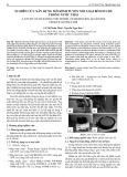 Nghiên cứu xây dựng mô hình tuyển nổi loại bỏ ion chì trong nước thải