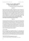 Nghiên cứu quy trình chế biến nước mía thanh trùng