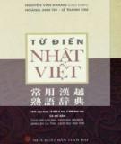 Nhật - Việt: Từ điển ngôn ngữ