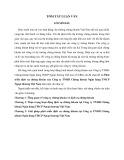 Tóm tắt Luận văn Thạc sĩ Ngân hàng: Phát triển dịch vụ chứng khoán của Công ty TNHH Chứng khoán Ngân hàng TMCP Ngoại thương Việt Nam