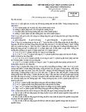 Đề thi KSCL môn GDCD 12 năm 2018-2019 lần 2 - THPT Lê Xoay - Mã đề 357